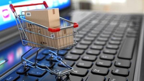 صورة التسوق عبر الإنترنت