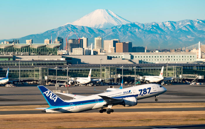 صورة مطار ياباني يوفر أسرّة من الورق المقوى للمسافرين
