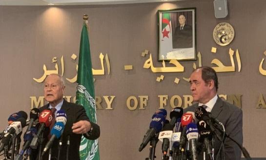 صورة أبو الغيط يؤكد قرار اعادة عضوية سورية إلى الجامعة العربية تتخذه الدول الأعضاء ولا توجد تحرّكات رسمية