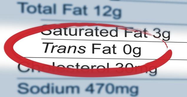 صورة الدهون المتحولة أو المهدرجة