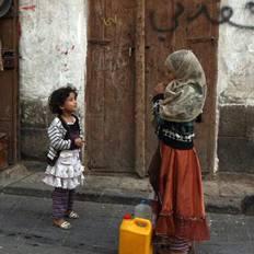 صورة منظمة: نحو 3 ملايين طفل ضحايا سوء التغذية في اليمن