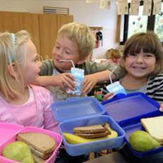 صورة الخبز الأسمر يزيد تركيز الأطفال