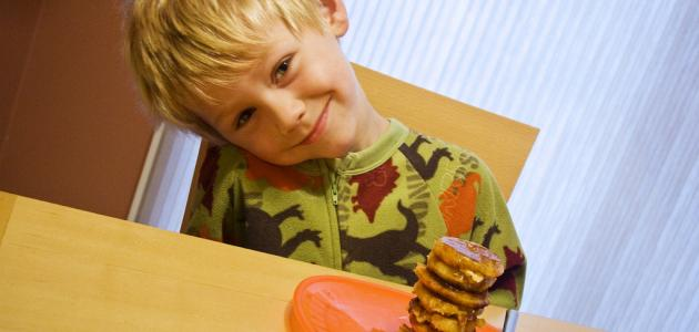 صورة أهمية وجبة الإفطار للأطفال
