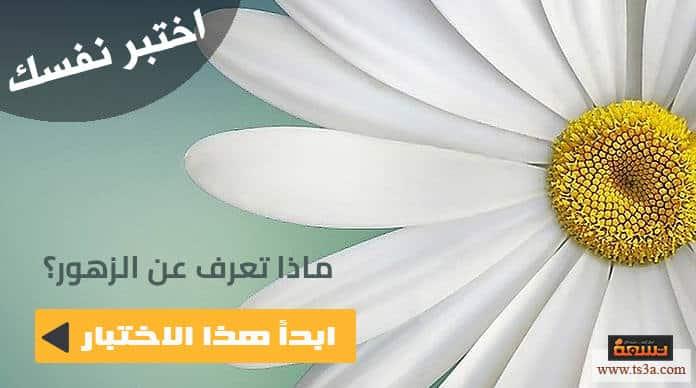 صورة اختبار الزهور : اختبر معلوماتك العامة عن أجمل الزهور وأشهرها
