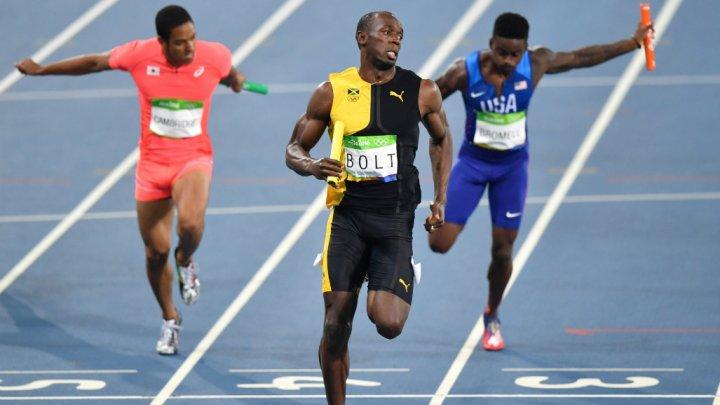 صورة كم مرة حمل اوسين بولت الميدالية الاولومبية الذهبية
