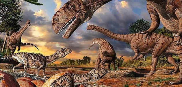 صورة كيف انقرضت الديناصورات