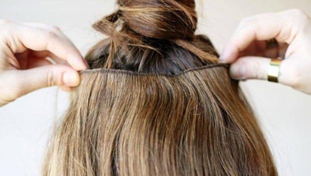 صورة توصيلات الشعر الدائمة