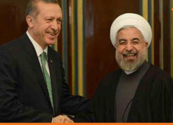 صورة روحاني يقترح على أردوغان في اتصال هاتفي عقد قمة إيرانية سورية تركية لبحث مصير إدلب بعد يوم من صدام مباشر بين القواته التركية وحزب الله قرب سراقب
