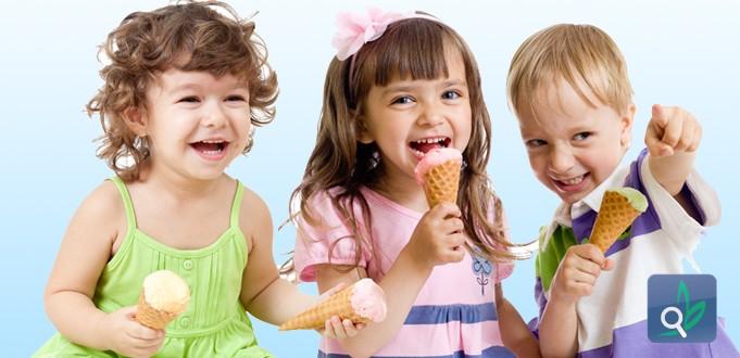 صورة اسناني القوية لا تخشى المثلجات الصيفية