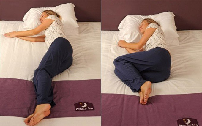 صورة تعرّف على مرضك من طريقة نومك