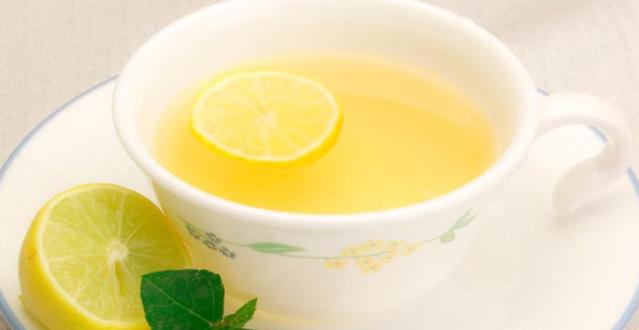 صورة فوائد الشاى الاخضر بالليمون