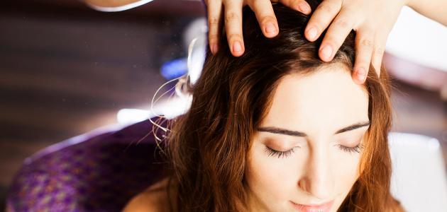 صورة علاج الكيس الدهني في الرأس
