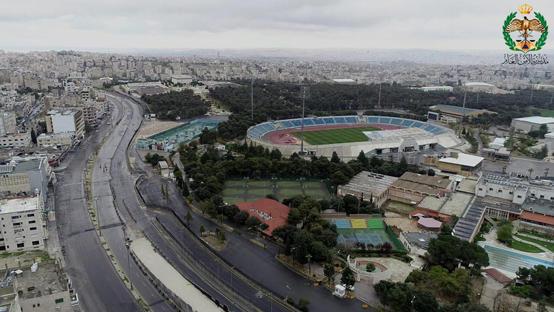 صورة عمان في ثاني ايام الحظر الشامل – صور