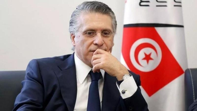 """صورة نبيل القروي: """"قلب تونس مع خيار حكومة كفاءات توافقية تحظى بحزام سياسي موسع"""""""