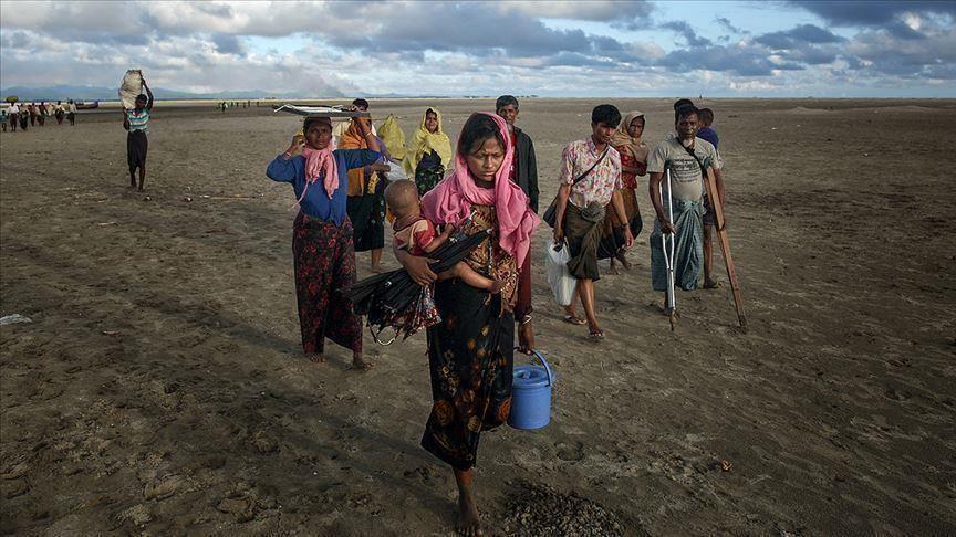صورة قلق أممي إزاء تفشي كورونا بين الروهنغيا في أراكان