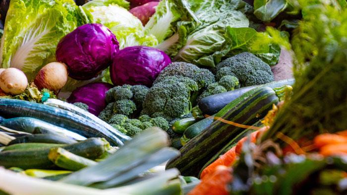 صورة القيم الغذائية للخضار (1)