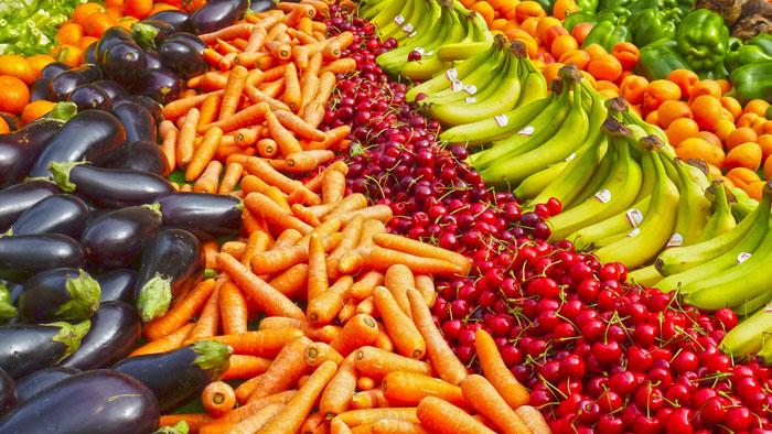 صورة القيم الغذائية للخضار (2)