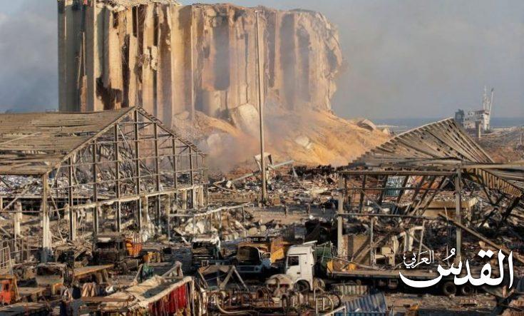 صورة مسؤول لبناني يحذر من حاويات قابلة للانفجار في مرفأ بيروت