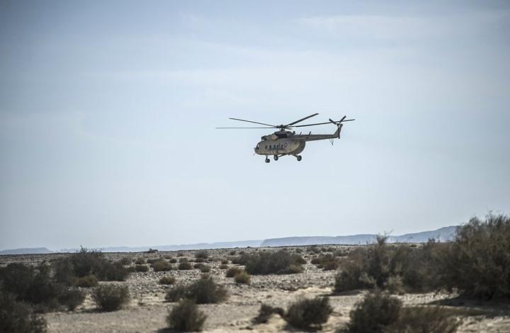 صورة الجيش الليبي يسيطر على مروحية لحفتر هبطت غربي سرت