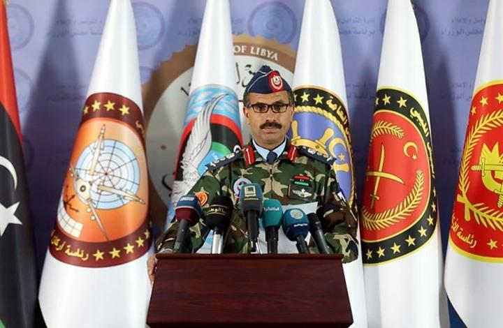 صورة الجيش الليبي: وصول أرتال مسلحة ومرتزقة لدعم حفتر بالجفرة