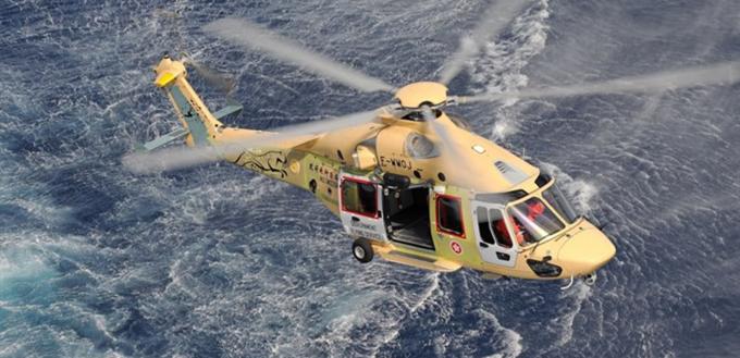 صورة طائرة الهليكوبتر في الإسعاف المستعجل