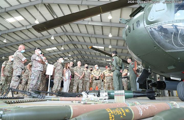 صورة الجيش اللبناني يعلن إسقاط طائرة إسرائيلية مسيّرة
