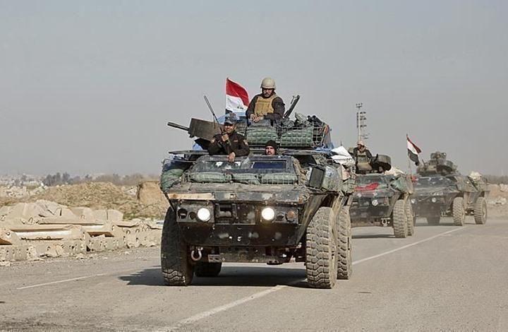 صورة تفجير رتل إمداد للتحالف بالعراق والكاظمي يوسع صلاحيات الجيش