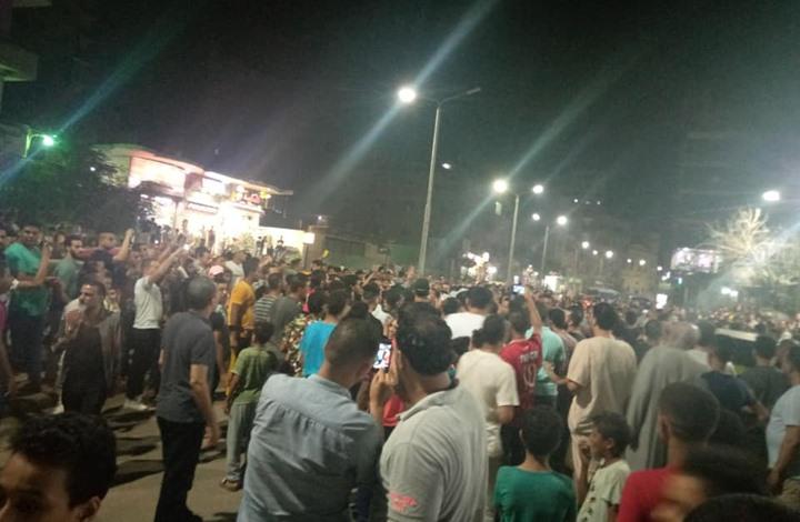 صورة مقتل مصري على يد الشرطة يشعل احتجاجات بمحافظة الجيزة