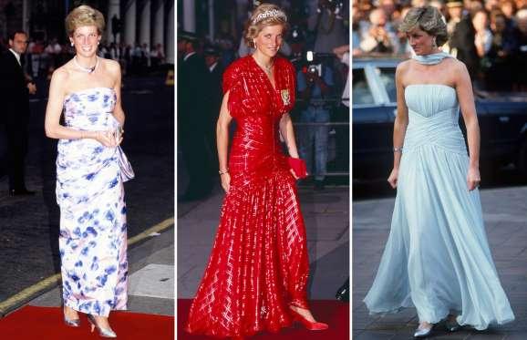 نتيجة بحث الصور عن أزياء الأميرة ديانا