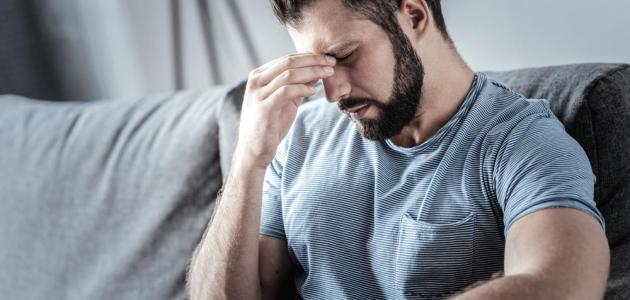 صورة أعراض التوتر عند الرجال