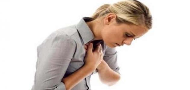 صورة أعراض النوبة القلبية عند النساء