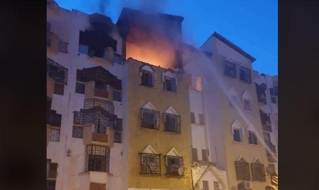 صورة تبسة: وفاة العروس ضحية إنفجار منزل بسبب الغاز