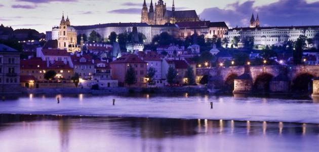 صورة مدينة براغ عاصمة التشيك