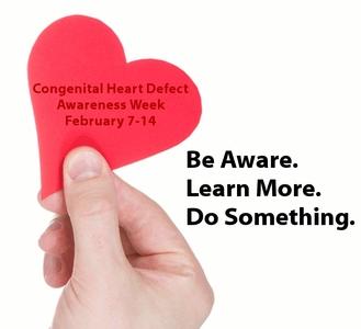 صورة أسبوع التوعية بالأمراض والاعتلالات الخلقية في القلب