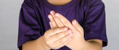 صورة التهاب المفاصل قد يصيب الأطفال