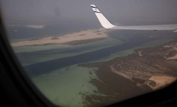 صورة صحافي يمني: الإمارات تسعى لفتح الأجواء اليمنية أمام الطيران الإسرائيلي- (تغريدة)