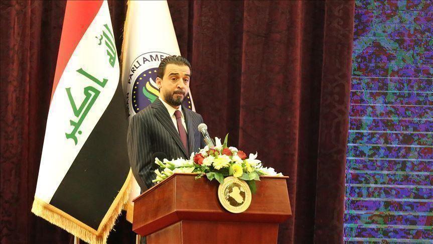 """صورة العراق.. الحلبوسي يتهم الحكومة بـ""""التلكؤ"""" في إجراء إصلاحات"""