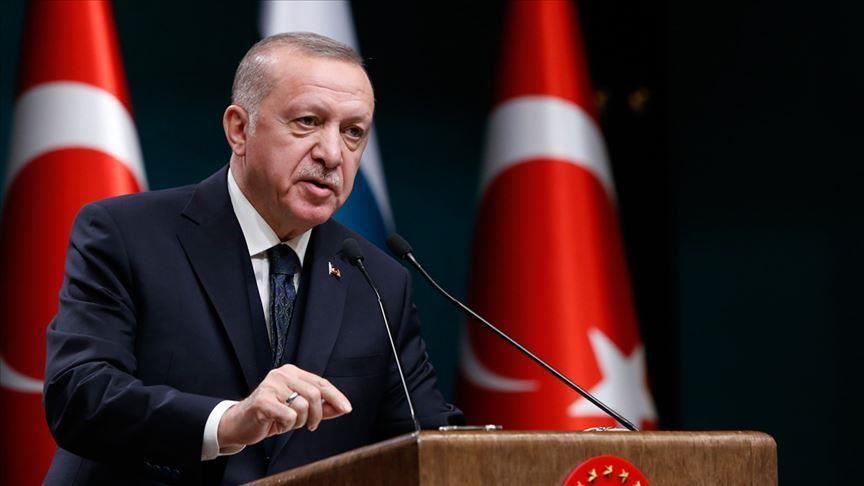 صورة أردوغان: الساعون لإقصائنا بالمتوسط حاولوا الاستيلاء على بلادنا قبل قرن
