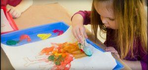 صورة مفهوم فن الطفل