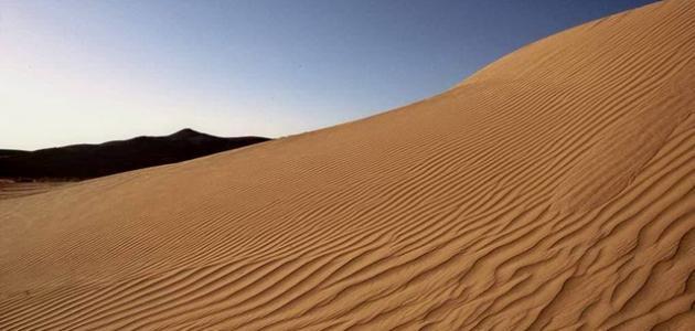 صورة أين تقع صحراء النقب
