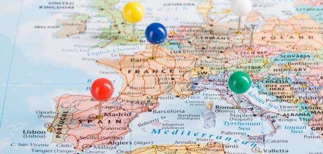 صورة دول أوروبا الغربية