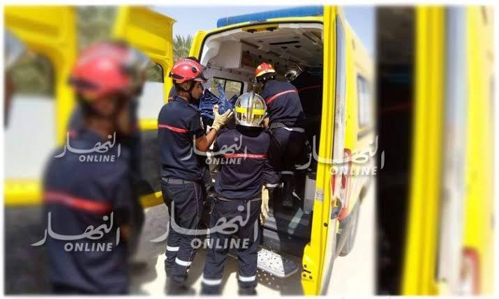 صورة تبسة: وفاة شخص وإصابة ثلاثة آخرين في حادث مرور