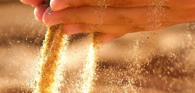 صورة فوائد الرمل