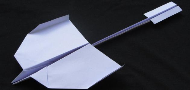 صورة كيف تصنع طائرة ورقية