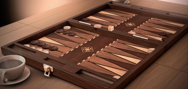 صورة كيف تلعب لعبة الطاولة