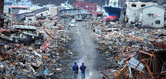 صورة كيف حدث زلزال اليابان
