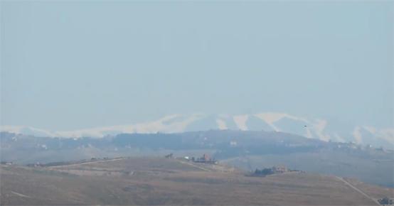 صورة جبل الشيخ يظهر من شرق عمان – فيديو