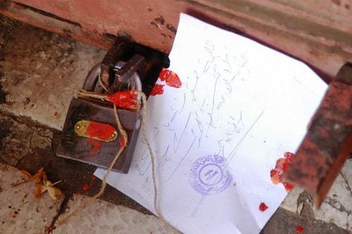 صورة مخالفة 11 محلا في كفرنجة