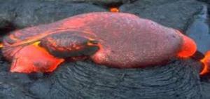صورة أنواع الحمم البركانية